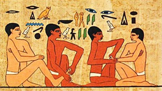 Fresque egypsienne
